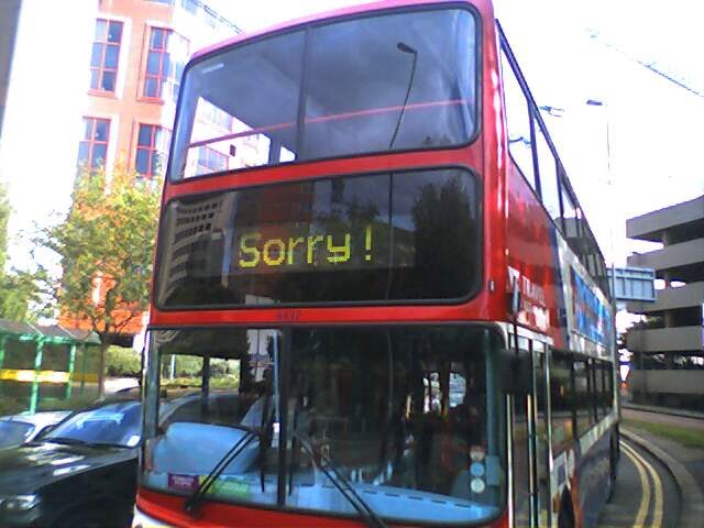 Dear Apology Bus